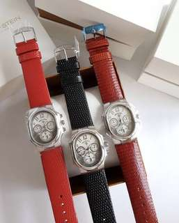 100% Authentic PHILIP STEIN 22-FGR Classic Chronograph Ladies Watch (Php 27,000 each)