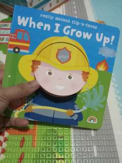 Buku anak - when i grow / buku bayi