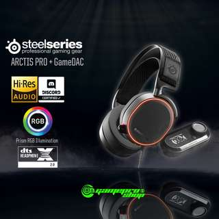 SteelSeries Arctic Pro + GameDAC Gaming Headset - 61453
