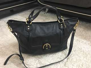 Coach Handbag Leather (Authentic)