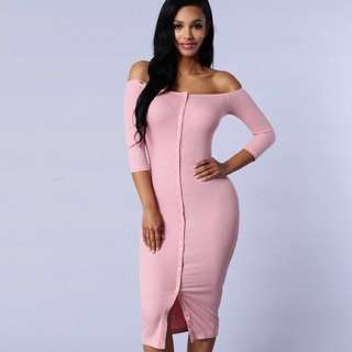 FASHION NOVA INSPIRED DRESS