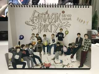 2013 EXO Monthly Calendar (Chinese Version)