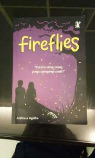 Novel Fireflies oleh Aletheia Agatha