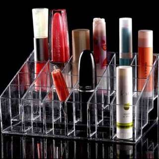 🌈INS 24 Grid Acrylic Lipstick/Make Up Organiser Brand New Instocks  !!