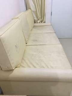 Sofa besar dijual murah