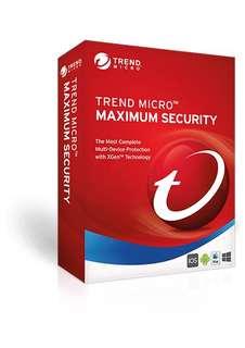 Trend Micro Titanium Maxmium Security 12 Activation Code/Licence