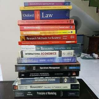 Economics & Law books