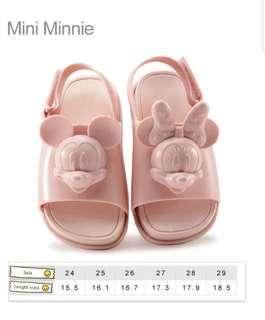 Kids Sandal Mini Minnie Mickey