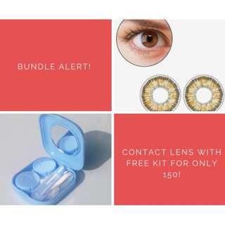 Contact Lens + FREE KIT