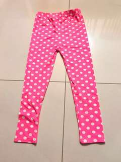 Brand new Girl's pant size 3yr old free star war toy