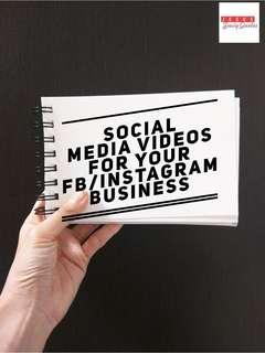 Social Media Videography/Editing Needs