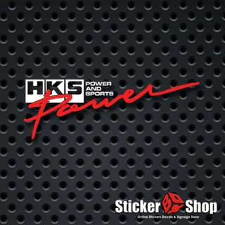 HKS Power Decal