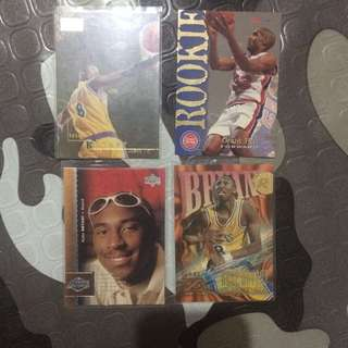 NBA Cards Kobe Rookie cards