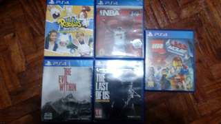 FOR TRADE PS4 GAMES