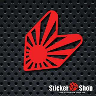 Wakaba Rising Sun Decal