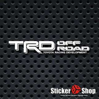 TRD Off-Road (4x4) Decal