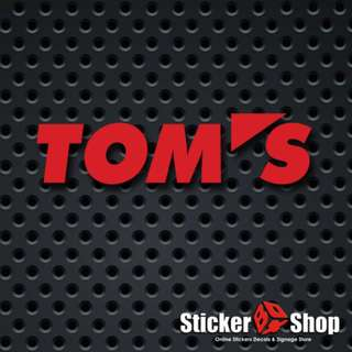 Tom's Decal