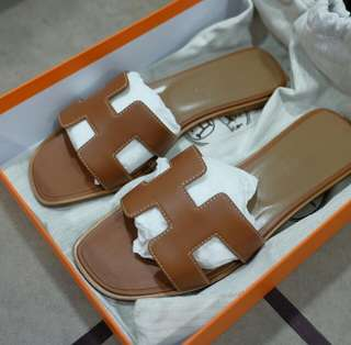 BNIB Authentic Hermes Oran Sandals