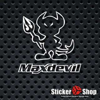 Max Devil Decal