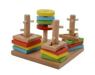 Wooden Toys Shape Learning