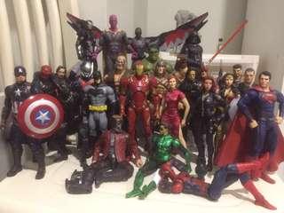 Marvel Legends, DC Figures