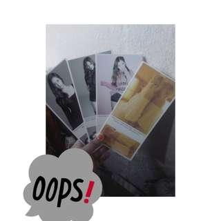 Postcard kpop