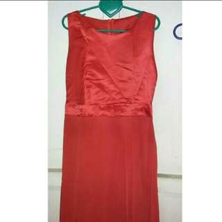 Long Dress Red