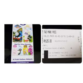 Admission Ticket to Hello Kitty + Thomas the train (value at RM$125) - www.puteriharbour.com