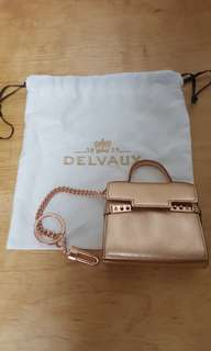 Delvaux Charms Bag / Key Chain