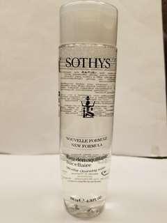 Sothys micellar cleansing water