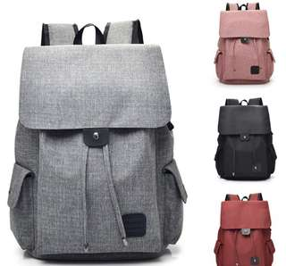 Canvas Travel Backpack Rucksack (PO)