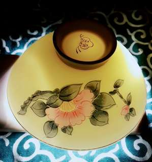 Lotus ceramic Japn bowl