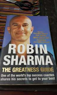 Robin Sharna: The Greatness Guide