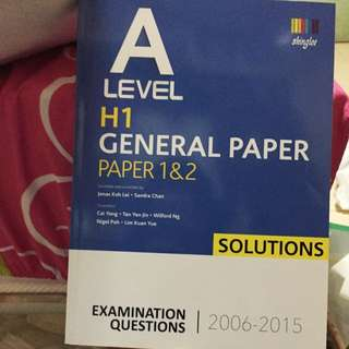 A-level GP Solutions 2006-2015