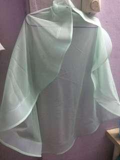 Veil Horsehair light green