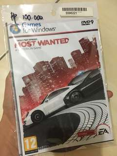 CD for PC need for speed