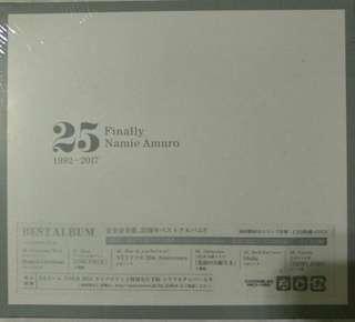 [Music Empire] Namie Amuro  安室乃美惠 - 25 Finally 1992-2017 3CD + DVD Album