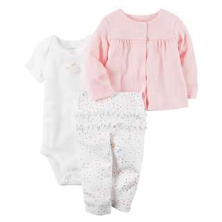 CARTER'S 3-Piece Babysoft Little Jacket Set