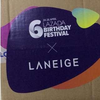 Laneige Lazada Surprise Box 6th Birthday