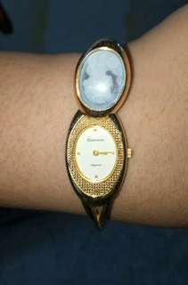 Cameo Vintage Style Watch from Japan Water Resistant