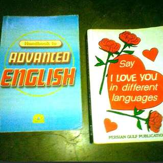 Say I Love You in different Languages & Handbook to Advance English
