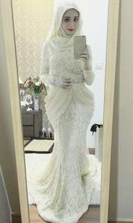 Nurita Harith Bridal Dress