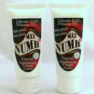 max numb cream