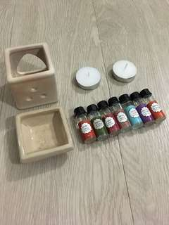 Oil Burner & Oils Set