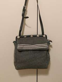 Nautical soft felt bag