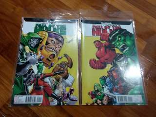 Marvel - Fall Of The Hulk: Alpha + Gamma