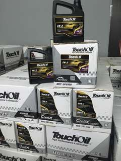 TouchOil Fully Synthetic 5W-40 USA techonogy