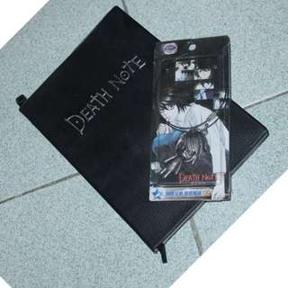 DEATH NOTE NOTEBOOK AND NECKLACE