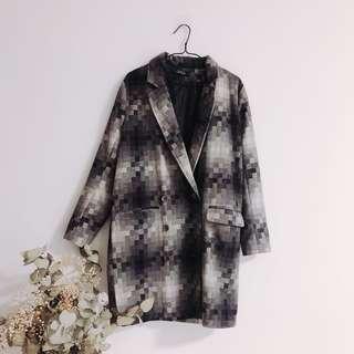 Korea style wool Coat