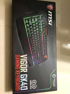 MSI gaming keyboard GK40 & Mouse GM10